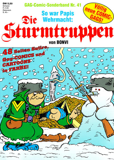 Cover for Die Sturmtruppen (Condor, 1978 series) #41