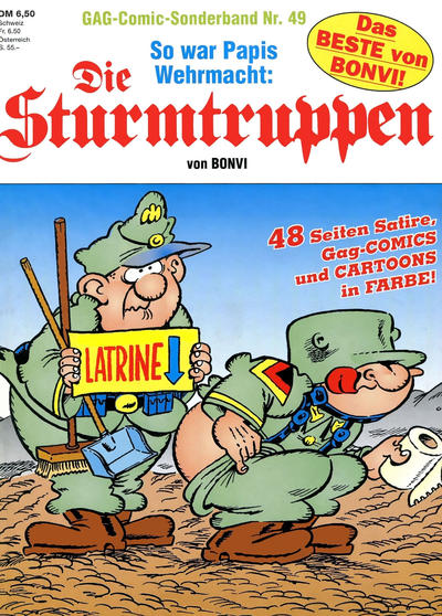 Cover for Die Sturmtruppen (Condor, 1978 series) #49