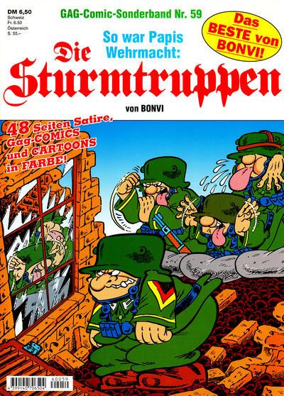 Cover for Die Sturmtruppen (Condor, 1978 series) #59