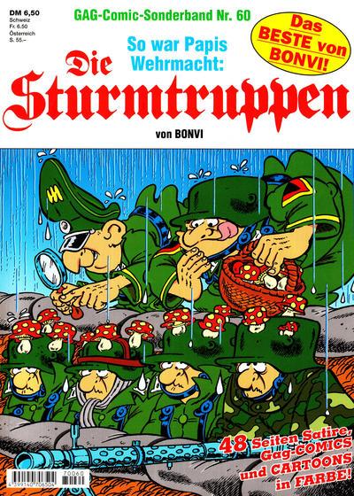 Cover for Die Sturmtruppen (Condor, 1978 series) #60