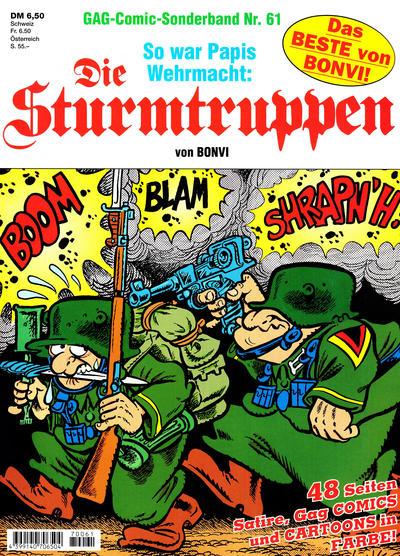 Cover for Die Sturmtruppen (Condor, 1978 series) #61