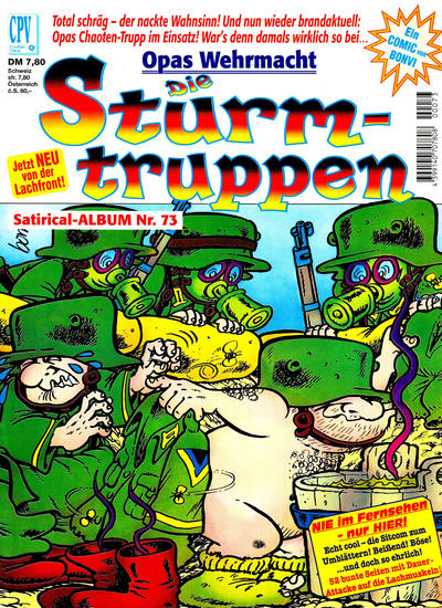 Cover for Die Sturmtruppen (Condor, 1978 series) #73