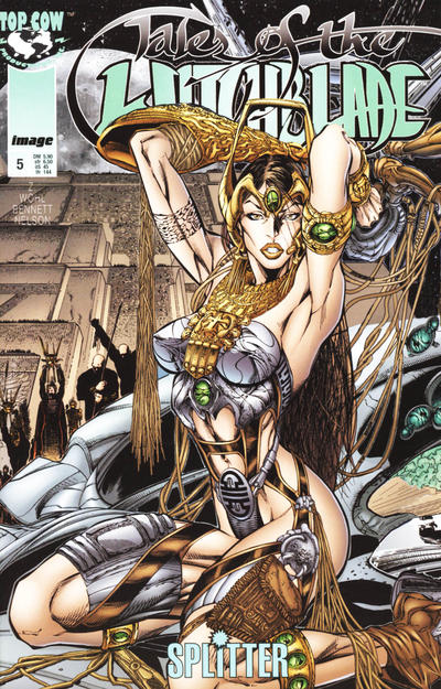 Cover for Tales of the Witchblade (Splitter, 1997 series) #5