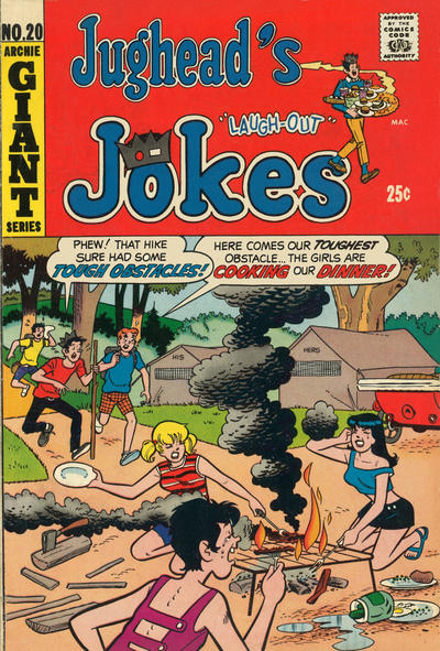 Cover for Jughead's Jokes (Archie, 1967 series) #20