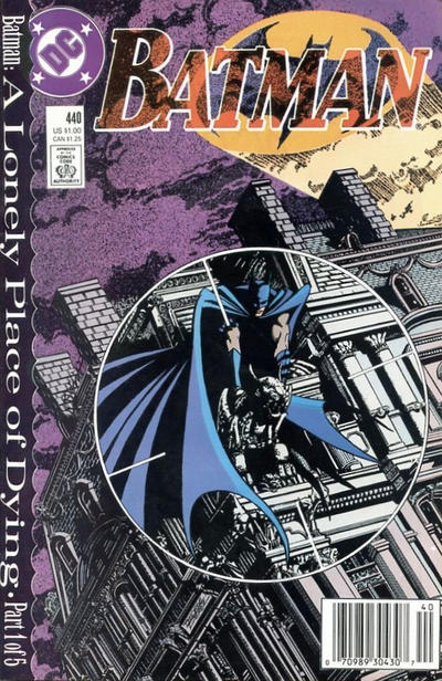 Cover for Batman (DC, 1940 series) #440 [Direct Edition]