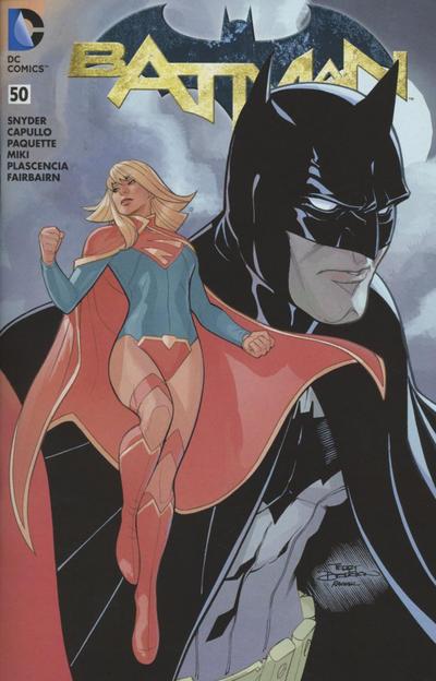 Cover for Batman (DC, 2011 series) #50 [Greg Capullo Cover]