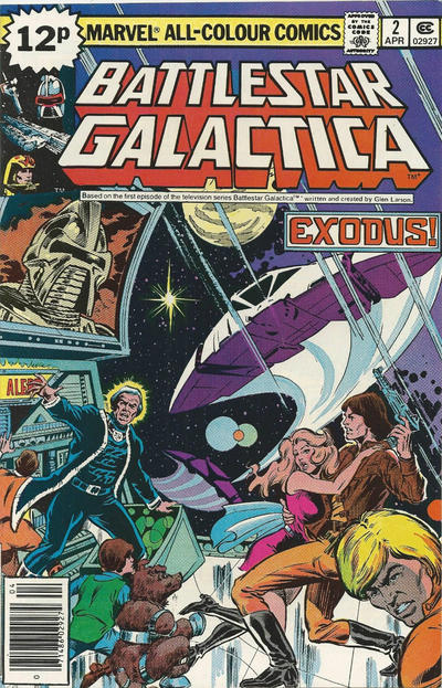 Cover for Battlestar Galactica (Marvel, 1979 series) #2 [Whitman Edition]