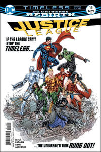 Cover Thumbnail for Justice League (DC, 2016 series) #15 [Fernando Pasarin & Matt Ryan Cover Variant]