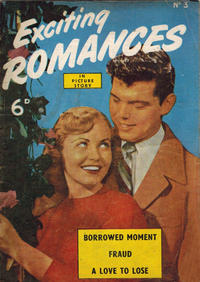 Cover for Exciting Romances (World Distributors, 1952 series) #3