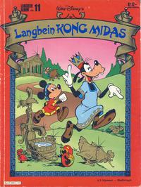 Cover Thumbnail for Langbein album (Hjemmet / Egmont, 1977 series) #11 - Langbein Kong Midas
