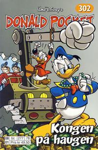 Cover Thumbnail for Donald Pocket (Hjemmet / Egmont, 1968 series) #302 - Kongen på haugen [Reutsendelse bc 277 78]