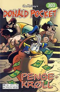 Cover Thumbnail for Donald Pocket (Hjemmet / Egmont, 1968 series) #303 - Pengekrøll [Reutsendelse bc 277 78]