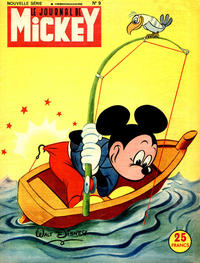 Cover Thumbnail for Le Journal de Mickey (Hachette, 1952 series) #9