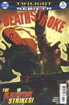 Cover Thumbnail for Deathstroke (2016 series) #13 [Bill Sienkiewicz Cover Variant]