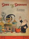 Cover for Spøk og Spenning (Magasinet For Alle, 1941 series) #8/1941
