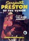 Cover for Sergeant Preston of the Yukon (World Distributors, 1953 series) #18