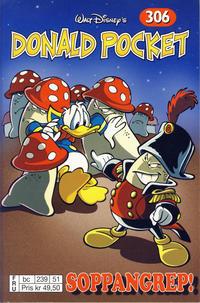 Cover Thumbnail for Donald Pocket (Hjemmet / Egmont, 1968 series) #306 - Soppangrep! [FRU bc 239 51]