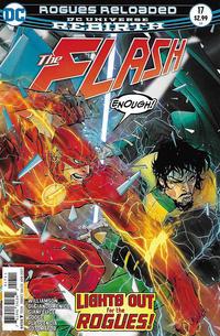 Cover Thumbnail for The Flash (DC, 2016 series) #17 [Carmine Di Giandomenico Cover]
