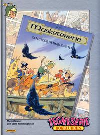 Cover Thumbnail for Tegneseriebokklubben (Hjemmet / Egmont, 1985 series) #88 - Beste historier 2: Cibolas sju byer og andre historier; Musketerene: Den store hemmeligheten