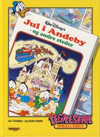 Cover Thumbnail for Tegneseriebokklubben (Hjemmet / Egmont, 1985 series) #87 - Prinsen og fattigutten; Jul i Andeby - og andre steder