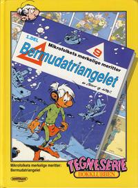 Cover Thumbnail for Tegneseriebokklubben (Hjemmet / Egmont, 1985 series) #82 - Langbein Arkimedes; Mikrofolkets merkelige meritter: Bermudatriangelet