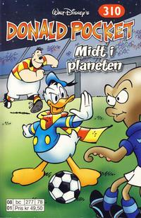 Cover Thumbnail for Donald Pocket (Hjemmet / Egmont, 1968 series) #310 - Midt i planeten [Reutsendelse bc 277 78]
