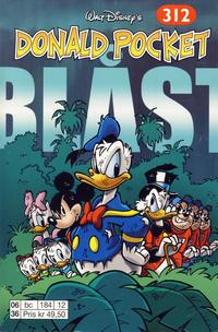 Cover Thumbnail for Donald Pocket (Hjemmet / Egmont, 1968 series) #312 - Blåst [1. opplag]