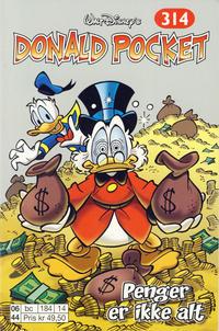 Cover Thumbnail for Donald Pocket (Hjemmet / Egmont, 1968 series) #314 - Penger er ikke alt [1. opplag]
