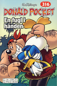 Cover Thumbnail for Donald Pocket (Hjemmet / Egmont, 1968 series) #316 - En fugl i hånden [bc 239 51 FRU]