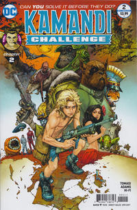 Cover Thumbnail for The Kamandi Challenge (DC, 2017 series) #2