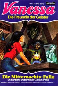 Cover Thumbnail for Vanessa (Bastei Verlag, 1982 series) #47