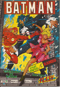 Cover Thumbnail for Batman (Grupo Editorial Vid, 1987 series) #20