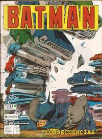 Cover Thumbnail for Batman (Grupo Editorial Vid, 1987 series) #69