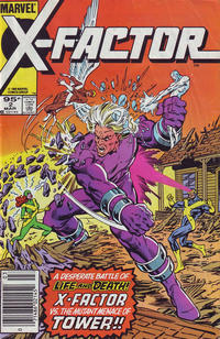 Cover Thumbnail for X-Factor (Marvel, 1986 series) #2 [Canadian]