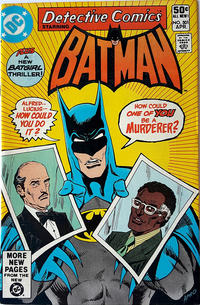 Cover Thumbnail for Detective Comics (DC, 1937 series) #501 [Direct]