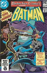 Cover Thumbnail for Detective Comics (DC, 1937 series) #506 [Direct Edition]