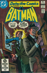 Cover Thumbnail for Detective Comics (DC, 1937 series) #516 [Direct Edition]