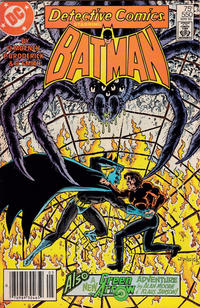 Cover Thumbnail for Detective Comics (DC, 1937 series) #550 [Newsstand]