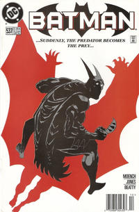 Cover for Batman (DC, 1940 series) #537 [Direct Edition]