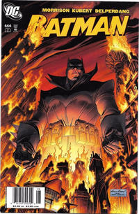 Cover for Batman (DC, 1940 series) #666 [Direct Edition]