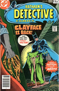 Cover Thumbnail for Detective Comics (DC, 1937 series) #478 [British]