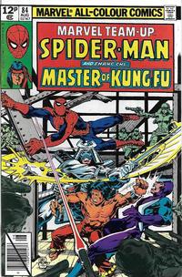 Cover Thumbnail for Marvel Team-Up (Marvel, 1972 series) #84 [British]