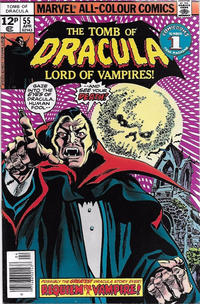 Cover Thumbnail for Tomb of Dracula (Marvel, 1972 series) #55 [British]