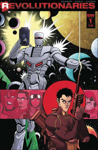 Cover Thumbnail for Revolutionaries (IDW, 2016 series) #1 [Regular Cover]