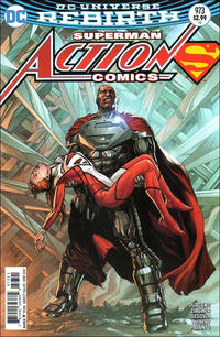 Cover Thumbnail for Action Comics (DC, 2011 series) #973 [Gary Frank Cover Variant]