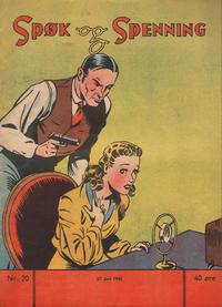 Cover Thumbnail for Spøk og Spenning (Magasinet For Alle, 1941 series) #20/1942