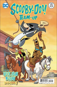 Cover Thumbnail for Scooby-Doo Team-Up (DC, 2014 series) #23 [Direct Sales]