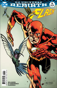 Cover Thumbnail for The Flash (DC, 2016 series) #16 [Yanick Paquette / Michel Lacombe Variant Cover]