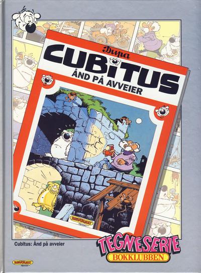 Cover for Tegneseriebokklubben (Hjemmet / Egmont, 1985 series) #90 - Cubitus: Ånd på avveier; Langbein Galilei
