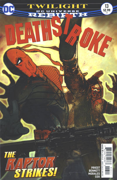 Cover for Deathstroke (DC, 2016 series) #13 [Bill Sienkiewicz Cover Variant]
